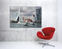 Artprint-Wild-Wild-Rotterdam,-Spido,-aan-de-muur